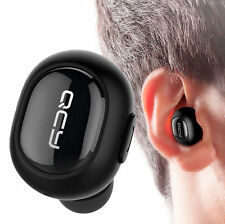 Schwarz Mini QCY Q26 In-Ohr Wireless Bluetooth Stereo Headset Ohrhörer Kopfhörer