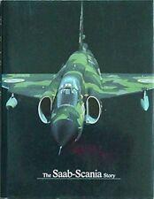 SAAB-SCANIA STORY (AIRCRAFT,CARS,TRUCKS+) 1987 BOOK &  LETTER (SAAB 37 VIGGEN CV