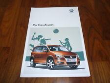 VW Cross Touran Prospekt 05/2009