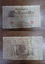 Billet Reichbanknote 1000 Mark Eintausend BERLIN 1910 GERMANY DEUTSCHLAND (1)