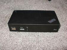 ThinkPad USB 3.0 Pro Dock 40A7 T480 T470 T460 T580 T570 T560 X270 X260 X250