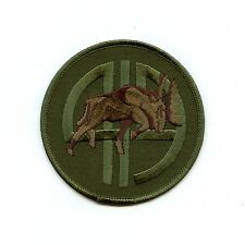 RCAF CAF Canadian 419 Moose Squadron OD Crest Patch