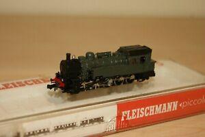 N Gauge FLEISCHMANN 7095 0-10-0 OBB Steam Tank Loco GREEN REPAINT and RUNS WELL
