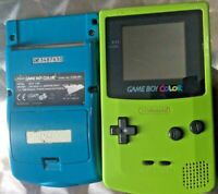 Nintendo gameboy Colour Console x 2 + interactive connection lead see photos