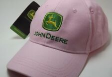 John Deere Pink Baseball Cap Embroidered Logo On Front and Back New With Tag
