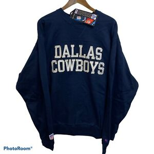 New Vintage 90s Champion Dallas Cowboys Embroidered Crewneck Sweatshirt Men's XL
