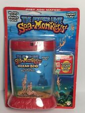 Amazing Live Sea Monkey's Ocean Zoo Instant Life, Just Add Water. New / Sealed