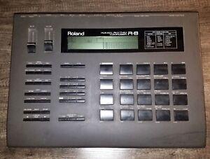 Roland R-8 Human Rhythm Composer Drum Machine - Works! - NO power supply