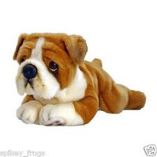 "*NEW* KORIMCO ENGLISH BULLDOG ""BUTCH"" PUPPY PUP PET DOG SOFT PLUSH TOY 30cm"