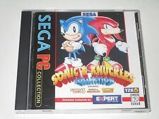Sonic & Knuckles Collection  (PC, 1996) Windows 95/98