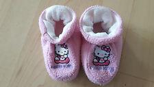 Hello Kitty  Hausschuhe Puschen  rosa Mädchen Kinder ca. Gr. 21