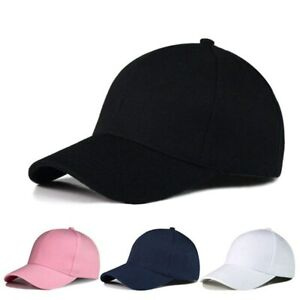 Cotton Caps Women Letter Solid Adult baseball Cap Hat Couples Cap Adjustable