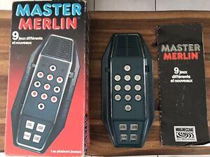 Jeu Électronique Vintage MASTER MERLIN HS