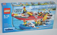 LEGO® CITY 60005 FEUERWEHR-Schiff NEU OVP Fire Boat New MISB NRFB to 60004 60003