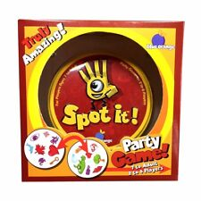 Spot it! 5 in 1 Educational Family Funny Card Game Party Game