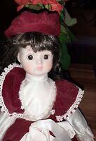Wupper Kollektion Porzellan Puppe . Mit  Zertifikat nr. 4551 Top Zustand