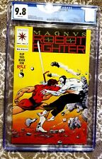 Valiant Magnus Robot Fighter #7 CGC 9.8 white pages with card inserts flip book