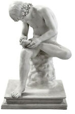 """Roman Boy with Thorn Museum statue 33"""" Museum Sculpture Replica Reproduction"""