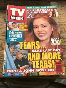 TV WEEK MAGAZINE * June 14 1997 * Isla Fisher, X Files.