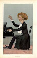 POLISH PIANIST IGNACE JAN PADEREWSKI PIANO PLAYER COMPOSER MUSIC VANITY FAIR