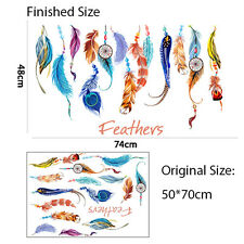 Removable Classic Dream Catcher Feather Wall Sticker Art Decal Mural Decoration