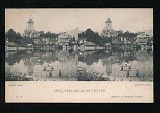 Switzerland SPIEZ & Lac Thoune novelty STEREO c1900/20s? PPC