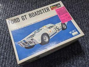 MONOGRAM VINTAGE 1/24 FORD GT ROADSTER SLOT CAR * BOX  ONLY 1960's