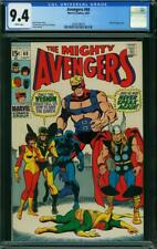 Avengers #68 CGC 9.4 -- 1969 -- Black Panther. Vision. Ultron-6 #2036708010