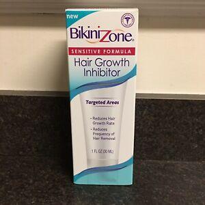 Bikini Zone Hair Growth Inhibitor Sensitive Formula 1 Fl Oz Targeted Areas NEW