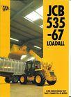 Equipment Brochure - JCB - 535-67 Loadall - Loader - Fork Lift - 1994 (E6754)
