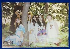 F(x) - Electric Shock (2nd Mini Album) Ver.1 Official Unfolded Posters New K-POP
