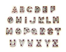 Floating Charms A-Z Letter Initial For Living Memory Locket Necklace Silver 7mm