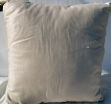 "Hallmart Collectibles Blush Textured 18"" Decorative Pillow- Metallic Rose Gold"