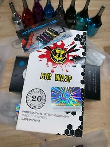 BIG WASP tattoo Needle Cartridge 7,9,11,13,15,17,19,21,27 CURVED MAGS cartridges