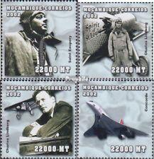 Mosambik 2508-2511 postfris MNH 2002 Persoonlijkheden