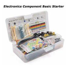 Electronics Component Starter Kit W/ 830 tie-points Cable Breadboard U4U5