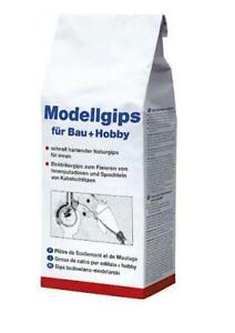 Pufas Modellgips für Bau + Hobby Bastelgips Elektrikergips 1,5 kg oder 5 kg