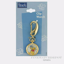 Authentic Disney Winney The Pooh Clip Watch 12345A