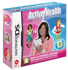 NDS-Active Health Carol Vorderman With Activity Meter/NDS (UK IMPORT) GAME NEW