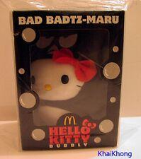 """NEW HELLO KITTY MCDONALD THAILAND PROMO BAD BADTZ-MARU BUBBLY Plush DOLL 6"""" RARE"""