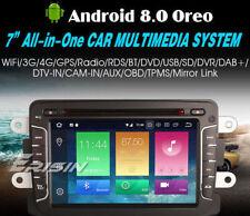 "AUTORADIO 7"" ANDROID 8.0 OctaCore 4GB-32GB Renault Dacia Duster Logan Sandero /"