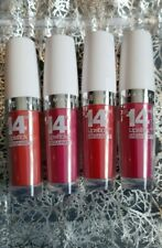 Set Of 4 MAYBELLINE SUPERSTAY LIPSTICKS Red Pink Coral Christmas Gift Stocking