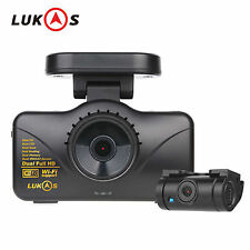 LUKAS LK-7950 WD GPS Dual Full HD 1920x1080 LED 8GB+8GB Car Dash Camera Blackbox