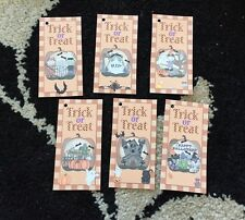 Halloween Party Gift Tags Favour