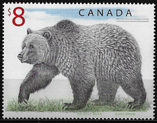 Canada Stamps — Wildlife: Grizzly Bear #1694 — MNH