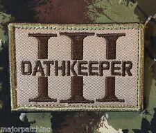 3 PERCENTER OATHKEEPER 3%ER INFIDEL ARMY MULTICAM VELCRO® BRAND FASTENER PATCH
