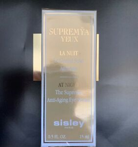 SISLEY Supremya At Night The Supreme Anti-Aging Eye serum 15 ml. New