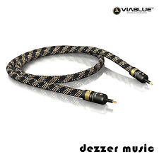 ViaBlue 0,5m H-FLEX optisches Mini-Toslink-Kabel / Digitalkabel / 0,50m HIGH END