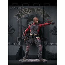 "SUICIDE SQUAD - DEADSHOT  STATUE - DC COMICS - Sculpted by Adam Ross 12"" tall"