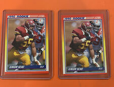 2- 1990 Score #302 Junior Seau RC